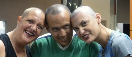 cancer head shave